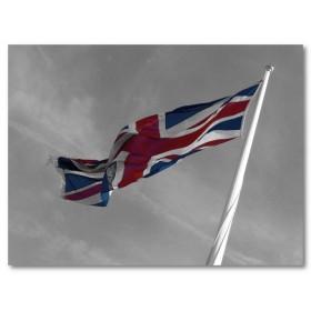 Αφίσα (μαύρο, λευκό, άσπρο, σημαία)